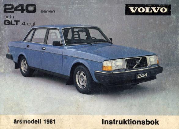 Volvo 240 260 Historia